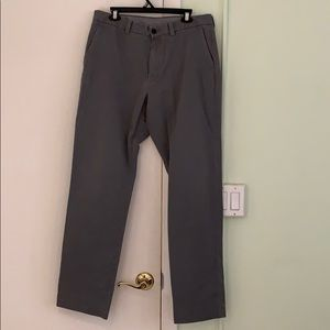 Men's grey pants. Size 35w x34 l. Lightly used